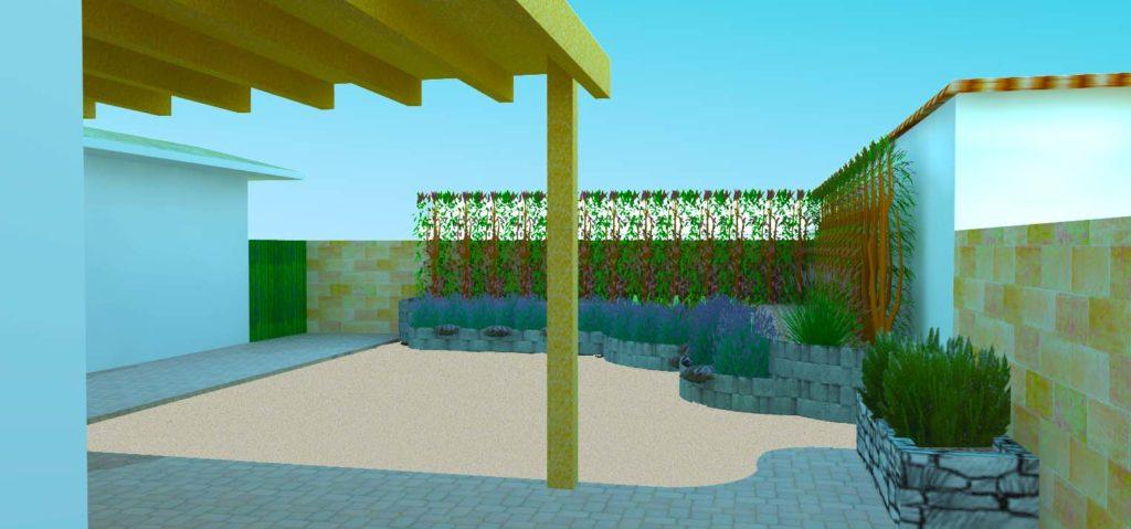 landscaping rendering los angeles
