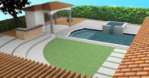 Hollywood landscaper designs
